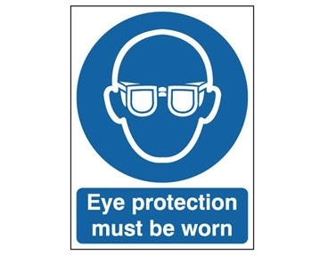 Ear & Eye Protection Signs