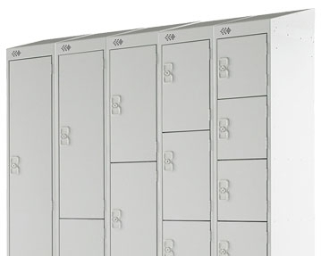 Economy Sloping Top Lockers