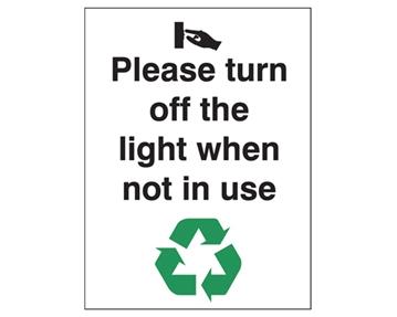 Energy Saving Signs
