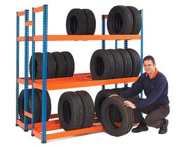 Tyre Shelving