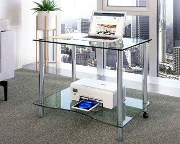 Glass Desks
