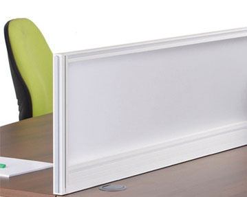 Glazed Desk Screens