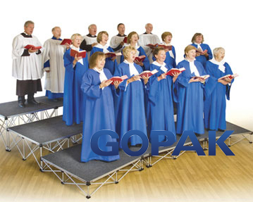 Gopak Ultralight Choir Staging Sets