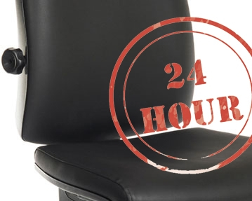 Vinyl 24 Hour Usage Chairs