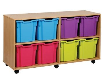 Jumbo Tray Storage Units