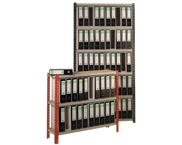 Lever Arch Storage Shelving