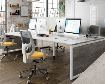 Lasso Bench Desks (Concrete)