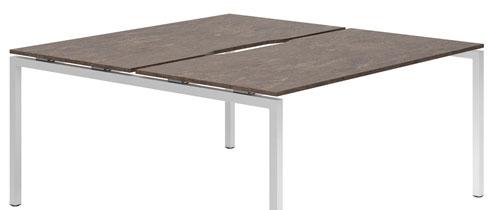 Lasso Bench Desks (Pitted Steel)