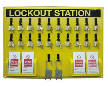 Lock Boxes & Lockout Stations