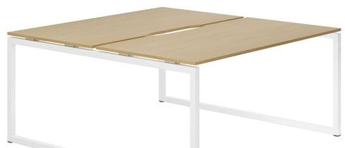 Lozano Bench Desks (Natural Oak)