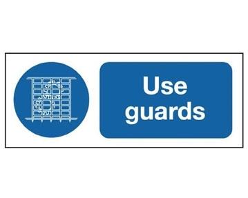 Machinery Guard Signs