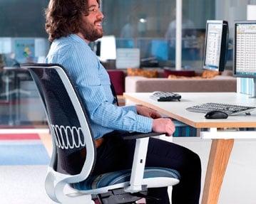 Designer Mesh Back Operator Chairs