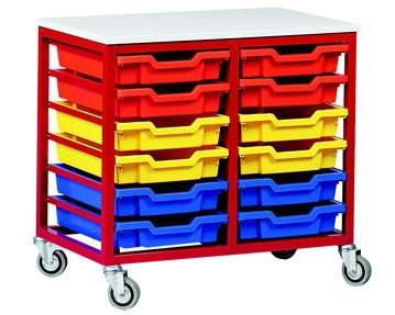 Metal Tray Storage Units