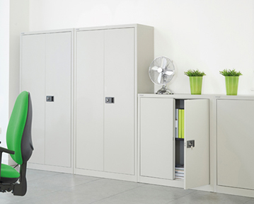 Metal Office Cupboards
