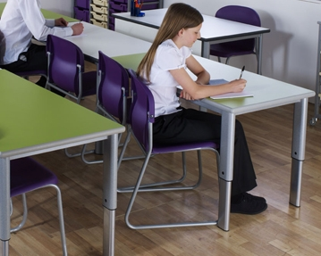 Elite Height Adjustable Classroom Tables