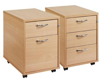 Mobile Desk Drawers