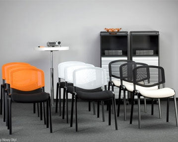 Mesh Reception Chairs