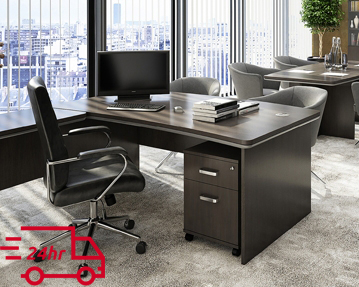 Next-Day Executive Desks