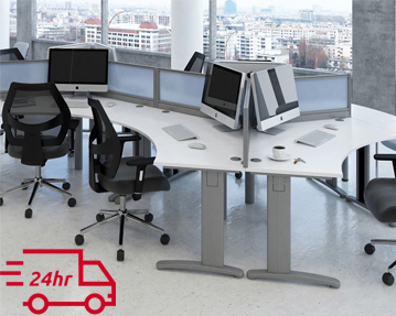 Next-Day Cluster Desks