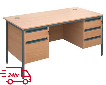 Next-Day H Frame Desks