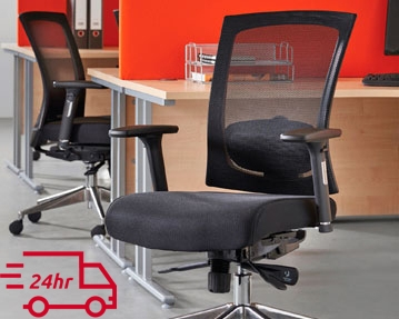 Next-Day Mesh Office Chairs