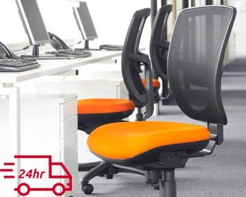 Next-Day Mesh Operator Chairs