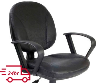 Next-Day Leather Operator Chairs