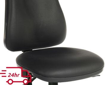 Next-Day Vinyl Operator Chairs