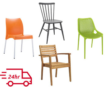 Next-Day Cafe Chairs