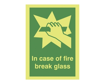 Nite-Glo Fire Safety Signs