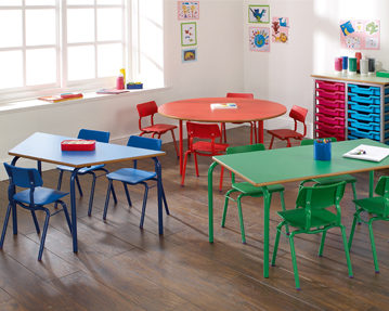 Nursery School Classroom Tables