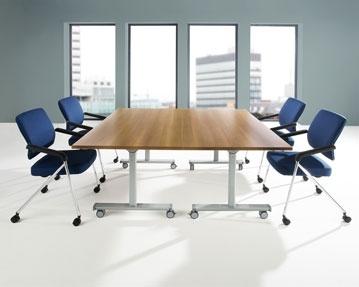 Pivot Flip Top Tables