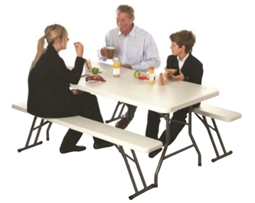 Plastic Top Folding Tables