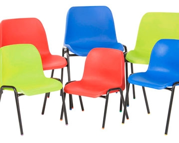 Polyprop 4 Leg Chairs
