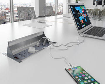 Power Ready Meeting Tables