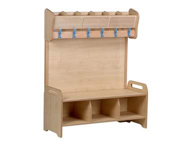Playscapes Cloakroom & Benches