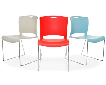 Cantilever Plastic Chairs