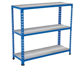 Rapid 2 - Galvanized Shelving