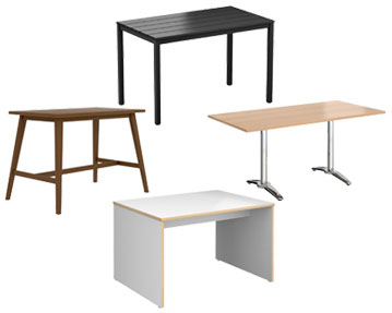 Rectangular Top Tables
