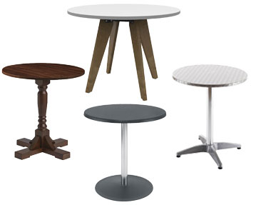 Round Top Tables