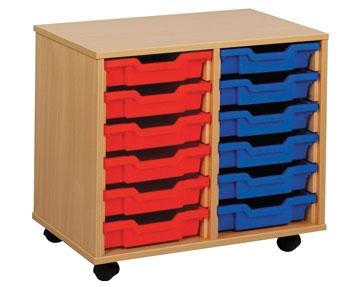 Shallow Tray Storage Units