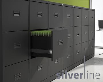 Silverline A3 Jumbo Filing Cabinets