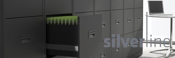 Silverline A3 Jumbo Filing Cabinet
