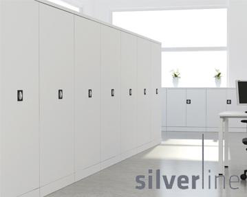 Silverline Kontrax Cupboards