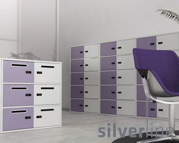 Silverline MLine Personal Lockers