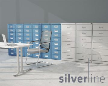 Silverline Media/Card Filing Index