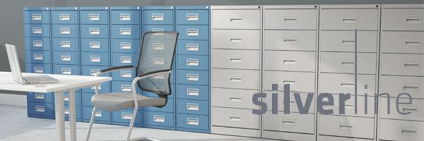 Silverline Media/Card Filing Index Cabinets