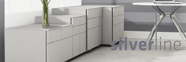 Silverline Metal Desk Drawers