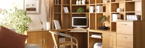 Fitted Home Office & Study Furniture for Small Offices