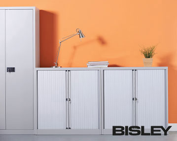 Bisley Systemfile Tambour Cupboards